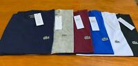 MEN'S SHORT SLEEVE LACOSTE CREW NECK T-SHIRT