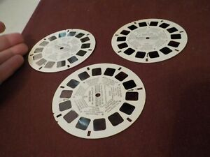 VINTAGE VIEW MASTER REEL- 1974 3 DISCS STAR TREK MR.SPOCK'S TIME TREK