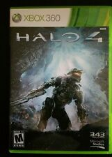 HALO 4 MICROSOFT XBOX 360 GAME DISCS AND CASE FAST FREE SHIPPING!!!