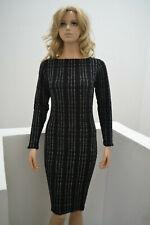 WOLFORD Glamour Lace Dress Kleid Metallics Lurex Small 36 38 40
