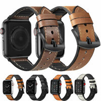 Echt Leder Armband Watch Band für Apple Watch 5 4 3 2 iWatch 40/44/38/42mm Band