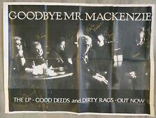 Goodbye Mr Mackenzie Fully Signed Poster + Magazine Cutting & Ticket Stubs (X2)