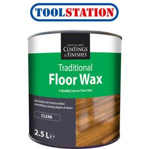 Clear Floor Wax 2.5L