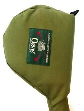 """Vintage Orvis fly fishing Rod and Reel Case tube 60"""" Green"""