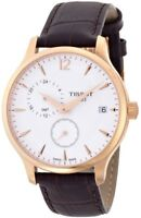 Tissot Tradition Rose Gold-tone Men's Swiss Watch T0636393603700