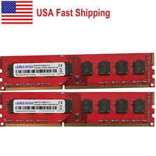 US 16GB 2x8GB 1600Mhz PC3-12800 DDR3 NONECC 240pin DIMM AMD CPU Chipset Memory