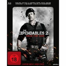 The Expendables 2 - Back for War, Limited Uncut Hero Pack Blu-ray + Merchandise