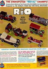 1970 ADVERT AHM Rio Mini Metal Toy Cars Trucks Isotta De Dion COLOR Chart