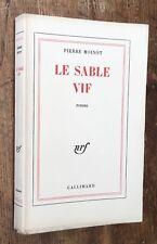 EO 1963 1/141 PUR FIL signé PIERRE MOINOT : LE SABLE VIF excellent état