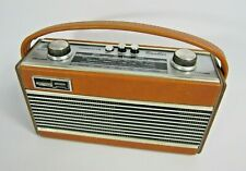 More details for vintage roberts 'rambler' portable radio - mw lw collectable