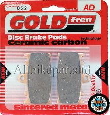 BERINGER 4 PISTON CALIPER (ALL YEARS) SINTERED FRONT BRAKE PADS GOLDFREN FOUR