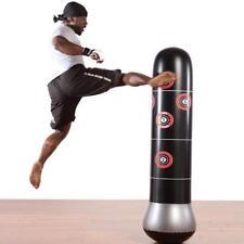 Inflatable Boxing Punching Bag Kick Training Tumbler Column Sandbag Sports Punch