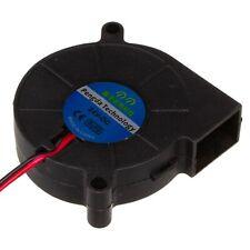 24V DC 5015 50mm Radiallüfter, radial, fan für hotend extruder, 505015, RepRap