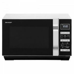 Sharp R360SLM 23L Standard Microwave with Defrost and flatbed design