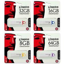 Kingston 16/32/64/128GB USB 3.0 Flash Pen Unidad de memoria DataTraveler G4