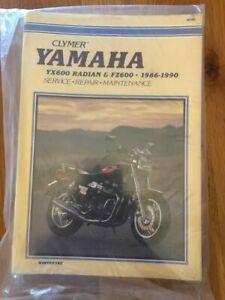 Yamaha  FZ600 YX600 Radian   Workshop manual Clymer  1986-1990
