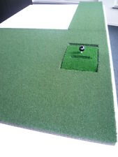 Putting mat with Puttingbahn, Pro Quality for Optishot Golf simulator, FH & LH