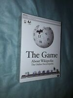 The game about wikipedia the online encyclopedia brand new and still sealed game