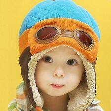 Children Kids Winter Beanie Hat Toddler Baby Boys Girls Warm Winter Aviator Hats