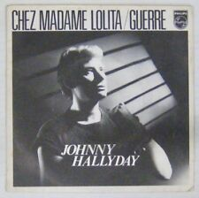 Jean-Baptiste Mondino 45 tours Johnny Hallyday 1980