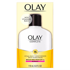Olay Complete All Day Moisture SPF 15 Skin Cream 4oz EXP: 6/21 & Up