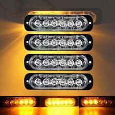 4x 6 LED Ampoules Feux de Penetration Lumière Stroboscopique Avant Arrière Phare