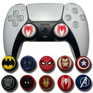 Superhero Theme Analog Caps DC Marvel  - PS4, PS5, Xbox One Series X Thumb Grips