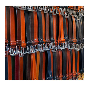 Mens Real Cowhide Leather British Handmade Belts - Made to Order.