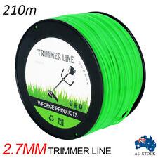 MTM Trimmer Line 2.7mm x 210M Whipper Snipper Cord Brush Cutter Brushcutter