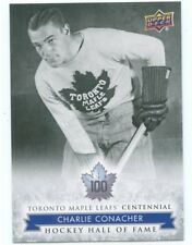 2017 UPPER DECK TORONTO MAPLE LEAFS CENTENNIAL SP #153 CHARLIE CONACHER *50121