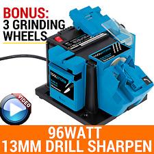 3XWHEELS MULTI ELECTRIC TOOL SHARPENER 96W HSS Drill Bit13MM SCISSOR KNIFE BLADE
