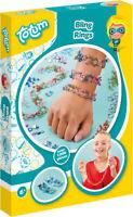 Totum Bling Rings Ringschmuck Schmuckset Bastelset Kinderbastelset Spielzeug