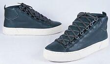 BALENCIAGA Arena Leather High-Top Sneakers (Mens 42EU/9US)