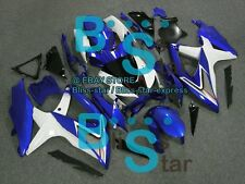Blue White GSXR600 Fairing Fit SUZUKI GSX-R600 GSX-R750 2009 2008-2010 023 A1