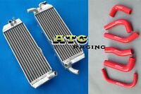 Aluminum Radiator & hose for Honda XR650 XR650R 2000-2007 01 02 03 04 05 06 07