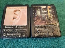 Manfred Mann's Earth Band- Lot of 2 8-Track Tapes- Tested, Works