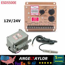 Esd5500e Speed Controller Generator Connector Actuator Governor Adc120 Brand New
