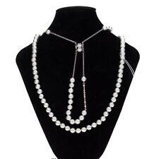 cb1994a0ec11 Collares y colgantes de bisutería perla sintética