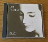 SARAH McLACHLAN Solace 1991 EU CD ALBUM GOOD QUALITY USED CD EX VOCAL POP