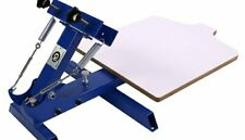 1 Color Screen Printing Manual Screen Printing Equipment for One Color T-shirt