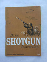 1962 Basic Shotgun Instruction - NRA