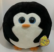 "Avalanche The Penguin 12"" TY Beanie Ballz Plush Toy 2013"