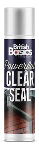 British Basics 500ml Clear Seal Crack Sealer Window Frames Indoor Outdoor BB1