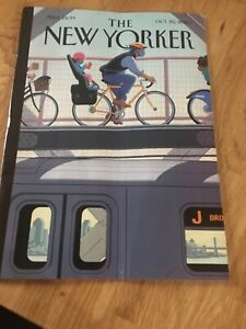 New Yorker Magazine October Oct 26 2020