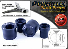VW Fox Powerflex Black Front Wishbone Rear Bushes Caster Offset PFF85-602GBLK