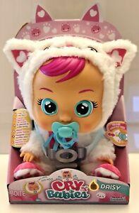Cry Babies Daisy Baby Doll - Cat New