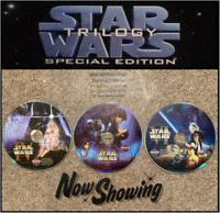 ✅ Star Wars Dvd Set: A New Hope The Empire Strikes Back Return of the Jedi ⭐⭐⭐⭐⭐