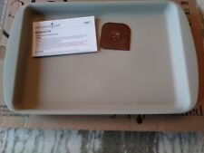 Pampered Chef Mint Condition Stoneware Medium Bar Pan FREE SHIPPING #1449 USA!