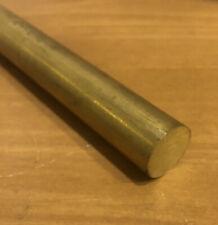 1 Diameter X 12 Long 360 Brass Round Bar Rod Lathe