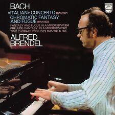 ALFRED BRENDEL - ITALIENISCHES KONZERT U.A.(VINYL)  VINYL LP NEU BACH